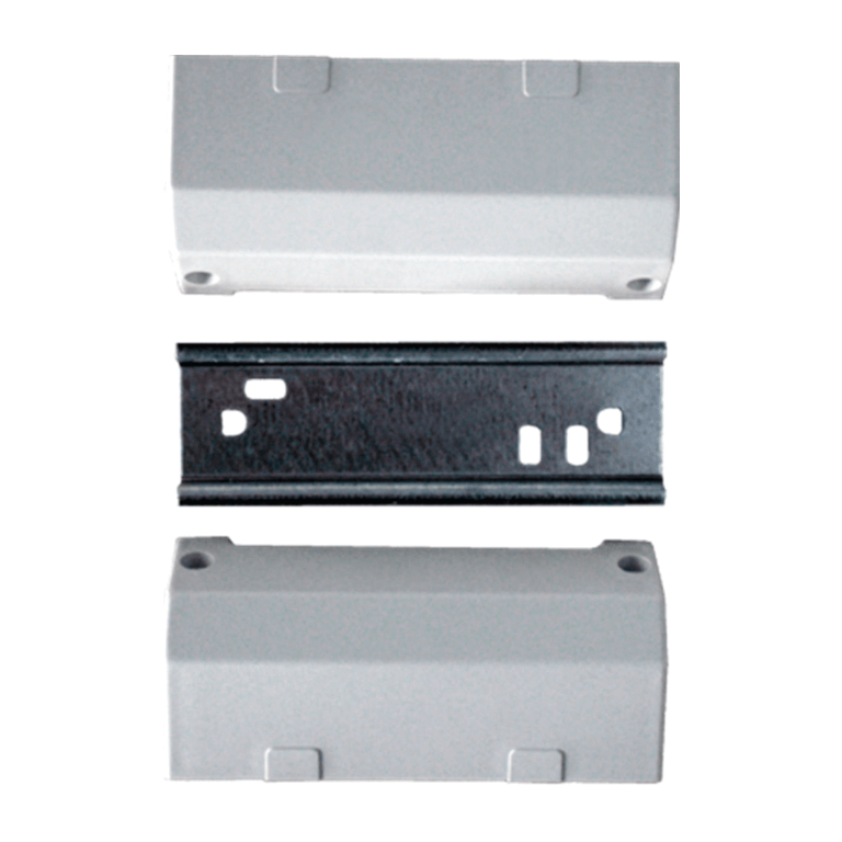 Kit with DIN rail